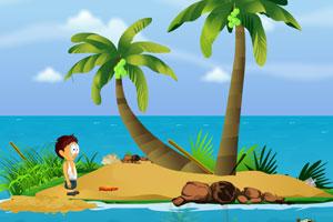 《热带岛屿逃脱》游戏画面1
