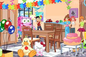 《小美女的生日派对》游戏画面1