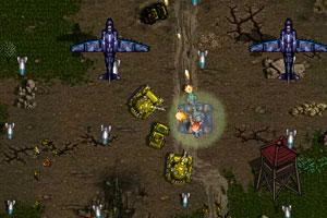 《超级坦克大战》游戏画面1
