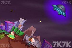 《飞碟入侵》游戏画面2
