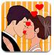 偷偷的亲吻新娘