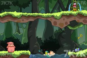 《猪猪救宝宝》游戏画面1