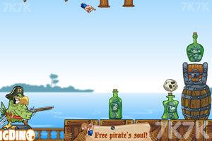 《愤怒的鹦鹉海盗》游戏画面2
