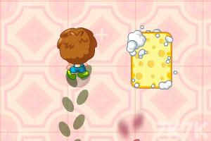 《可爱餐厅清洁工》游戏画面2