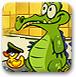 顽皮小鳄鱼找小鸭2