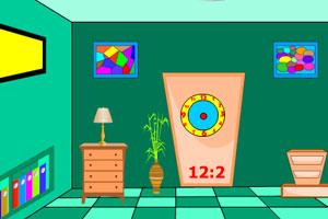 《时钟房间逃脱》游戏画面1