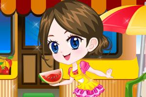 《可爱水果女孩》游戏画面1