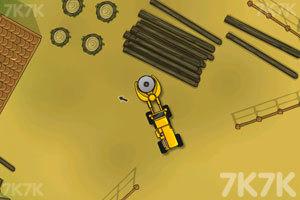 《伐木大卡车》游戏画面2