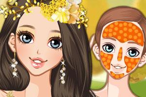 《秋天新娘化妆》游戏画面1