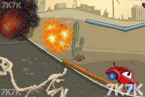 《大车吃小车2豪华无敌版》游戏画面6