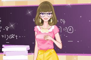 《打扮我的老师》游戏画面1