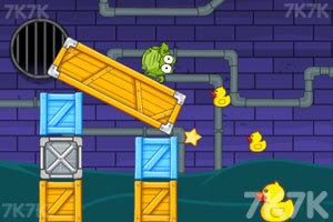 《小鳄鱼爱小黄鸭》游戏画面2