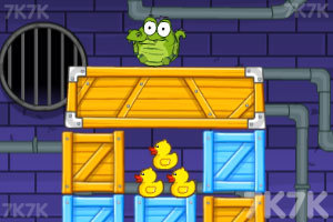 《小鳄鱼爱小黄鸭》游戏画面1