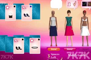 时尚纸牌时装秀
