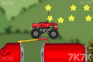 《玩具卡车破坏之路》游戏画面4