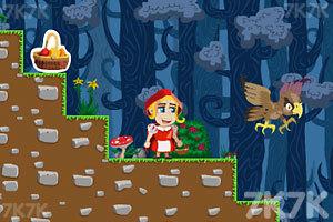 《小红帽看外婆》游戏画面2