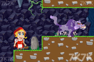 《小红帽看外婆》游戏画面3