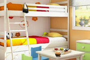 《温馨的儿童房间》游戏画面1