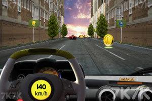 《3D真实赛车》游戏画面2
