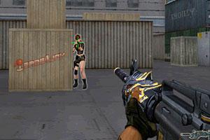 《M4A1黑龙无敌版》游戏画面1