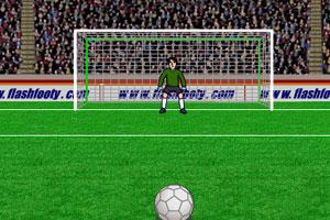 《虚拟点球射门》游戏画面1