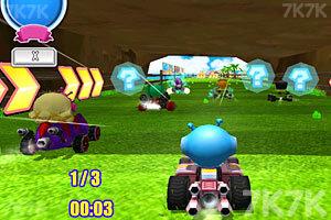 《泡泡堂卡丁车赛》游戏画面2
