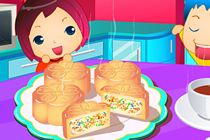 《制作月饼》游戏画面1