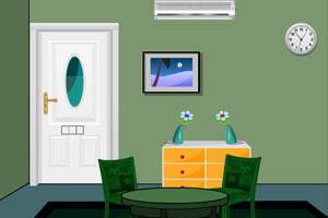 《绿色客厅逃离》游戏画面1