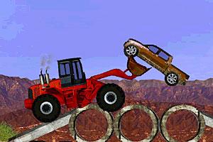 《模拟铲土车无敌版》游戏画面1