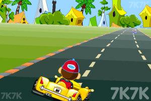 《卡通跑车计时赛》游戏画面5
