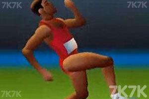 《百米赛跑》游戏画面2