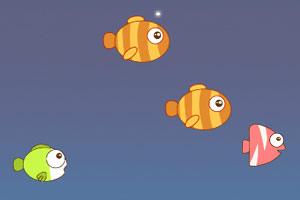 《大鱼吃小鱼》游戏画面1