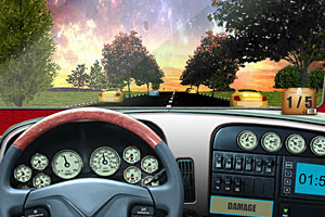 《3D大卡车真实驾驶无敌版》游戏画面1