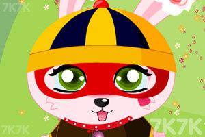 《粉红兔兔换装》游戏画面5