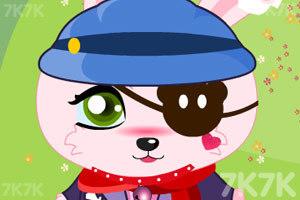 《粉红兔兔换装》游戏画面4