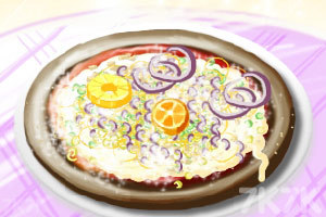 《制作水果比萨》游戏画面3