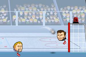 《大头冰球对决》游戏画面1