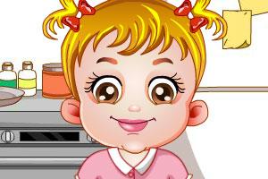 《可爱宝贝厨房装》游戏画面1