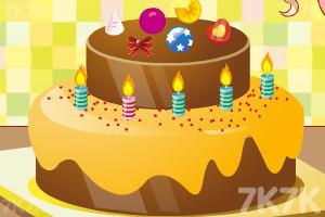 《制作生日蛋糕》游戏画面3
