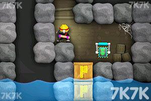 《涂鸦忍者小矿工2无敌版》游戏画面2