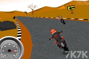 《摩托计时赛》游戏画面7