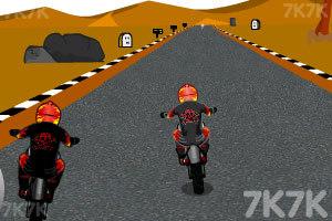 《摩托计时赛》游戏画面2