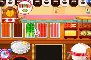 《小熊猫做紫菜包饭》游戏画面8