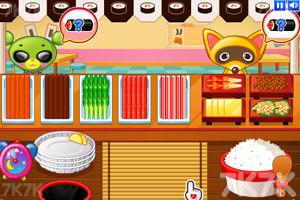 《小熊猫做紫菜包饭》游戏画面2