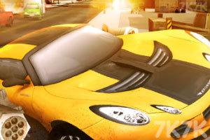 《激情燃烧的赛车》游戏画面1