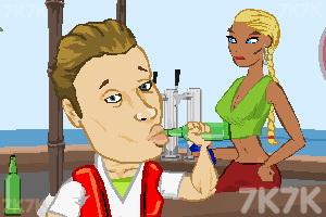 《屌丝海滩健身》游戏画面5