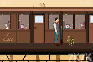 《追击铁路大盗》游戏画面3