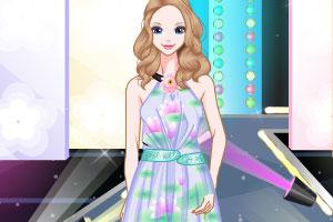 《T台时尚》游戏画面1