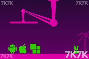 《长耳朵小绿怪2选关版》游戏画面1