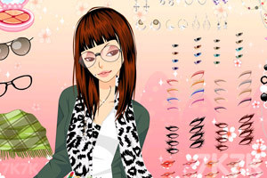 《新款性感豹纹衫》游戏画面9